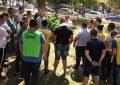 Skandal në Kavajë/PS bllokon numërimin e votave, prani e madhe e policisë