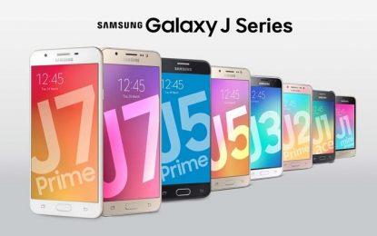 Samsung prezanton serinë e re të Galaxy J (FOTO LAJM)