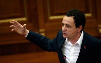 Kurti: Vetëvendosje është partia më e madhe, i takon formimi i Qeverisë