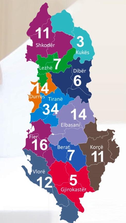Parlamenti i ri, ja si shpërndahen 140 mandate