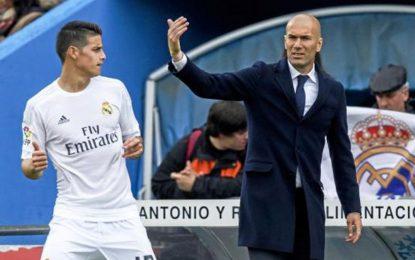 James nuk preferohet nga Zidane, kolumbiani zgjedh klubin e ri
