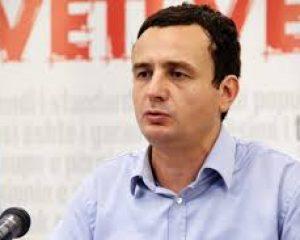 Kandidat për kryeministër, Albin Kurti shpalos 9 pikat për dialogun me Serbinë