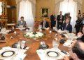 Debat i ashpër, Thaçi me Nishanin kundër Vuçiç dhe Ivanov