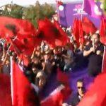 Rilind Lefter Maliqi i PD-së – Shfaqet në mitingun e PS: Rama do marrë 76 mandate