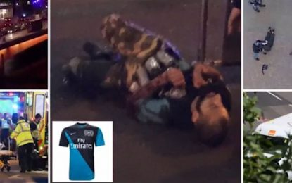 VIDEO/Ky është momenti kur policia qëllon 3 xhihadistët e Londrës
