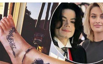 8-vjetori i vdekjes së mbretit të Popit, Paris Jackson bën tatuazh