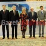 Samiti i Bërdos në Slloveni, Thaçi dhe Vuçiç bëhen bashkë në një foto
