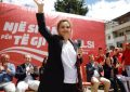 Monika në protesta, Vasili duel në Parlament