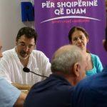 Çuçi dhe Kumbaro dëgjesë publike me përfaqësues të biznesit në Gjirokastër