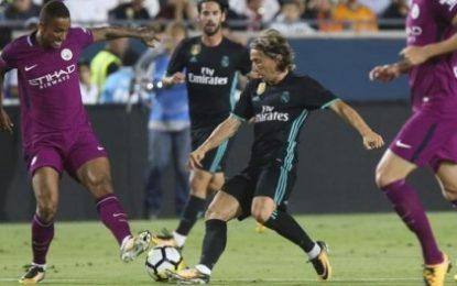 Video/ Spektakël në turneun ICC. Fitojnë Juventus dhe Barcelona, Mançester Siti shkatërron Realin