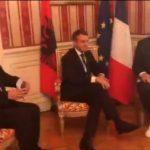 Samiti i Triestes, Rama takohet me Presidentin e Francës