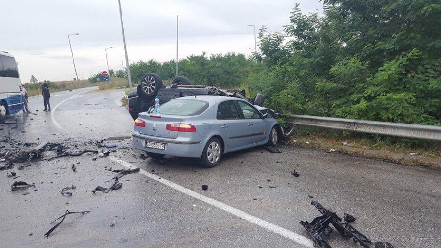 Foto nga aksidenti i ish-ministrit Ahmetaj