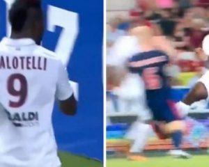 Balotelli ndëshkohet për ndërhyrje të ashpër dhe pas dy minutave i shënon Ajaxit në LK (Video)
