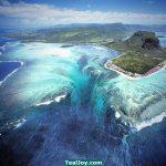 """Ishulli Mauritius rrezikohet nga një """"vorbull' nënujore?"""