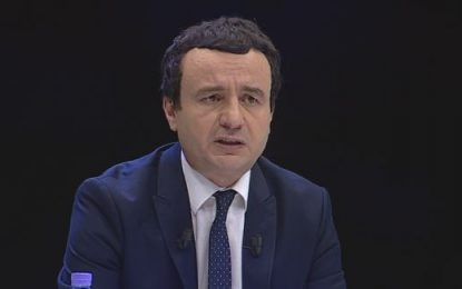 Kurti: Jo rastësisht të gjitha burimet ujore janë jashtë territorit shqiptar