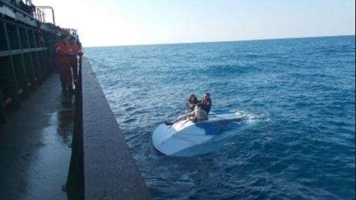 Motoskafi i pëson defekt, shpëtohen 6 pushues në Ksamil
