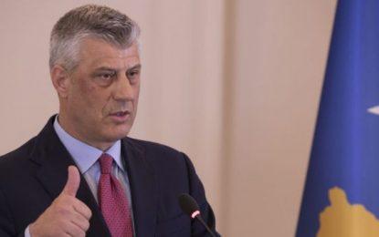 Thaçi: Demarkacioni me Malin e Zi tashmë është çështje vetëm e Kosovës