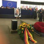 Presidenti Nishani në ceremoninë e nderimit të ish-kancelarit gjerman