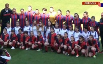 Vllaznia për femra triumfon në Ligën e Kampionëve, të premten sfida me pretendentët e PAOK