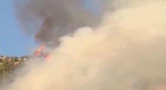 Kërkohet ndihmë – Vatra aktive zjarri në Finiq, rrezikohen banesa