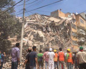 Pamjet e tërmetit të frikshëm në Meksik (FOTO/VIDEO)