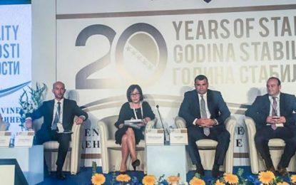 Sejko në konferencën e Bankës Qendrore të Bosnje Hercegovinës: Të kontribuojmë në forcimin e bashkëpunimit rajonal