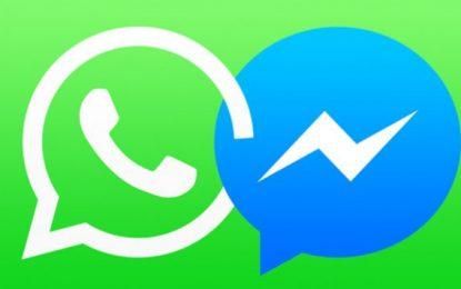 Messenger 'konkurencë' përdoruesish me Whatsapp