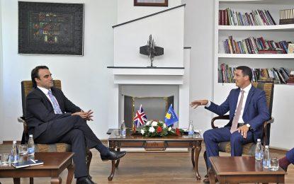 Britania mbështet Kosovën përmes projekteve konkrete