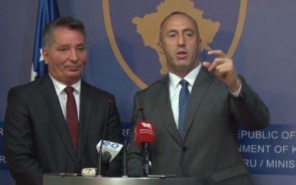 """Haradinaj """"sulmon"""" gazetarët: S'dini anglisht, duhet të bëni me shumë shkollë"""