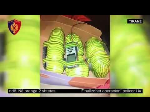 Operacioni Explosion – Tiranë, dy të rinj arrestohen me 3 mina të komanduar me celularë
