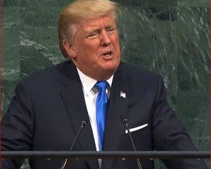 VIDEO – Donald Trump mban fjalimin e parë në Asamblenë e OKB