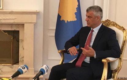 Thaçi: Komisioni Evropian ka qasje diskriminuese ndaj Kosovës