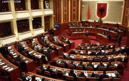 LIVE/Punimet e Parlamentit të Shqipërisë