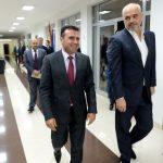 Rama udhëton drejt Maqedonisë, takon Zaev: Dy vendet bashkëpunim në rrugën Euroatlantike