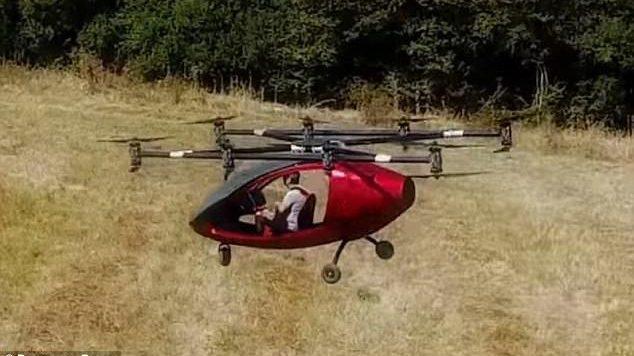 E ardhmja e transportit , prodhohet droni dyvendësh