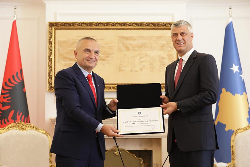 Presidenti Meta, vizitë në Prishtinë: Kosova i ka plotësuar kushtet për vizat