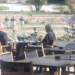 Kryeministri Rama në Shkup, kafe me deputetin shqiptar (Foto)