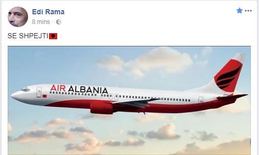 """Rama: Së shpejti linja ajrore, """"Air Albania"""". Pronarët? Një miliarder dhe një pronar mediash"""