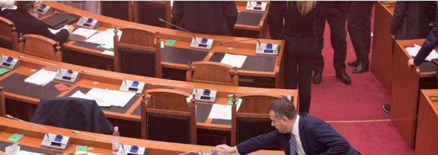 Berisha  Ky është votim  narkokryetari i grupit të PS së votoi si