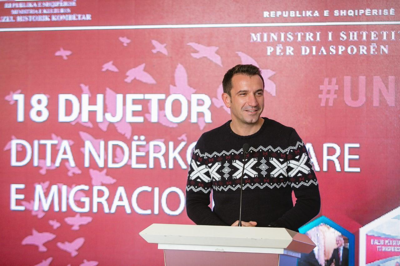 Dita Ndërkombëtare e Emigrimit  Veliaj  Mirënjohje për emigrantët që përfaqësojnë denjësisht Shqipërinë
