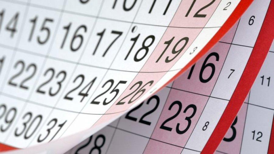 Këto janë festat zyrtare të vitit 2018 | Gazeta Koha Jone