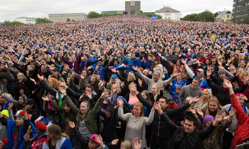 Ky është popull futbolldashës, 99,6 % ndiqte direkt ndeshjen Argjentinë-Islandë