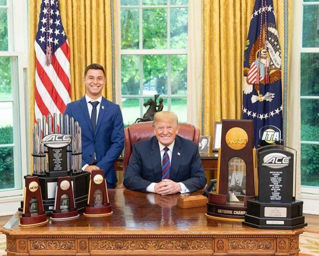 Një shqiptar në zyrën e Donald Trump