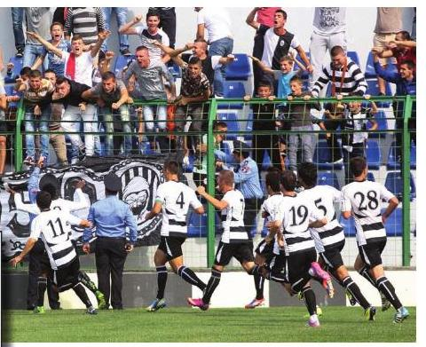 Vetëm Laçi kualifikohet nga ekipet shqiptare