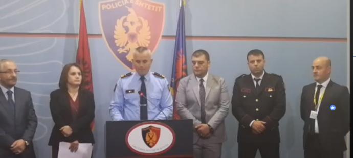 Policia dhe prokuroria e krimeve të rënda aksion spektakolar, arrestime kupolës së bandës