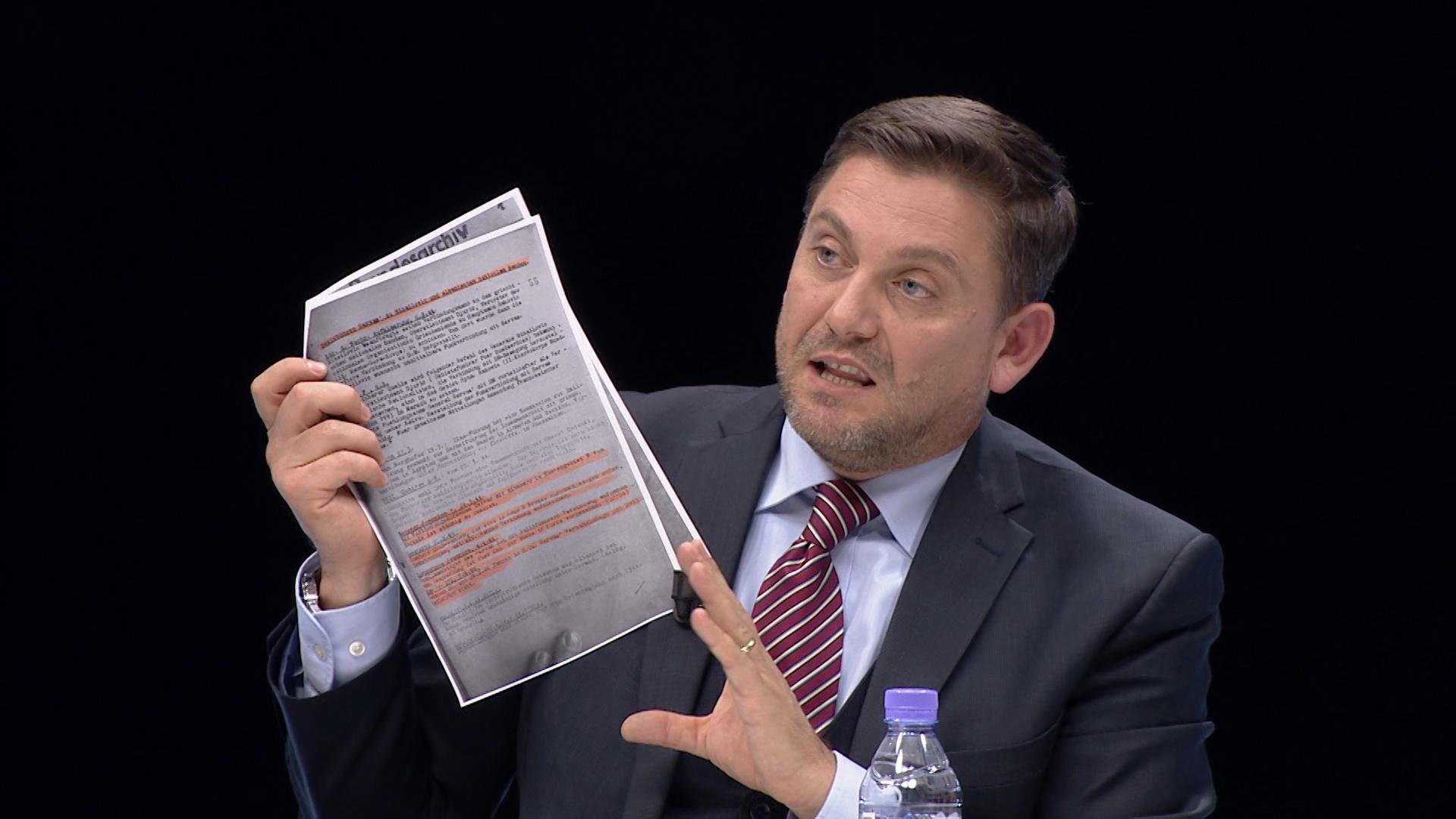 Dokumenti Kasmi  Bisedimet e fshehta të Ballit Kombëtar me grekët