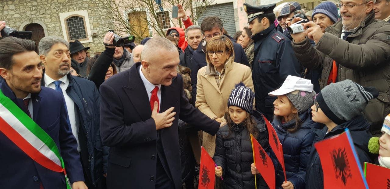 Presidenti Meta me arbëreshët në Provincën e Avellinos (FOTO)