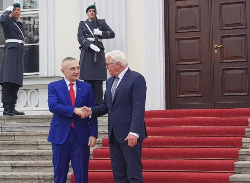 Presidenti Meta takon presidentin gjerman, Steinmeier (FOTO)