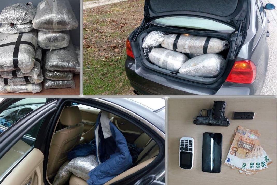 arrestohet-shqiptari-mbushi-makinen-me-44-kg-marijuane