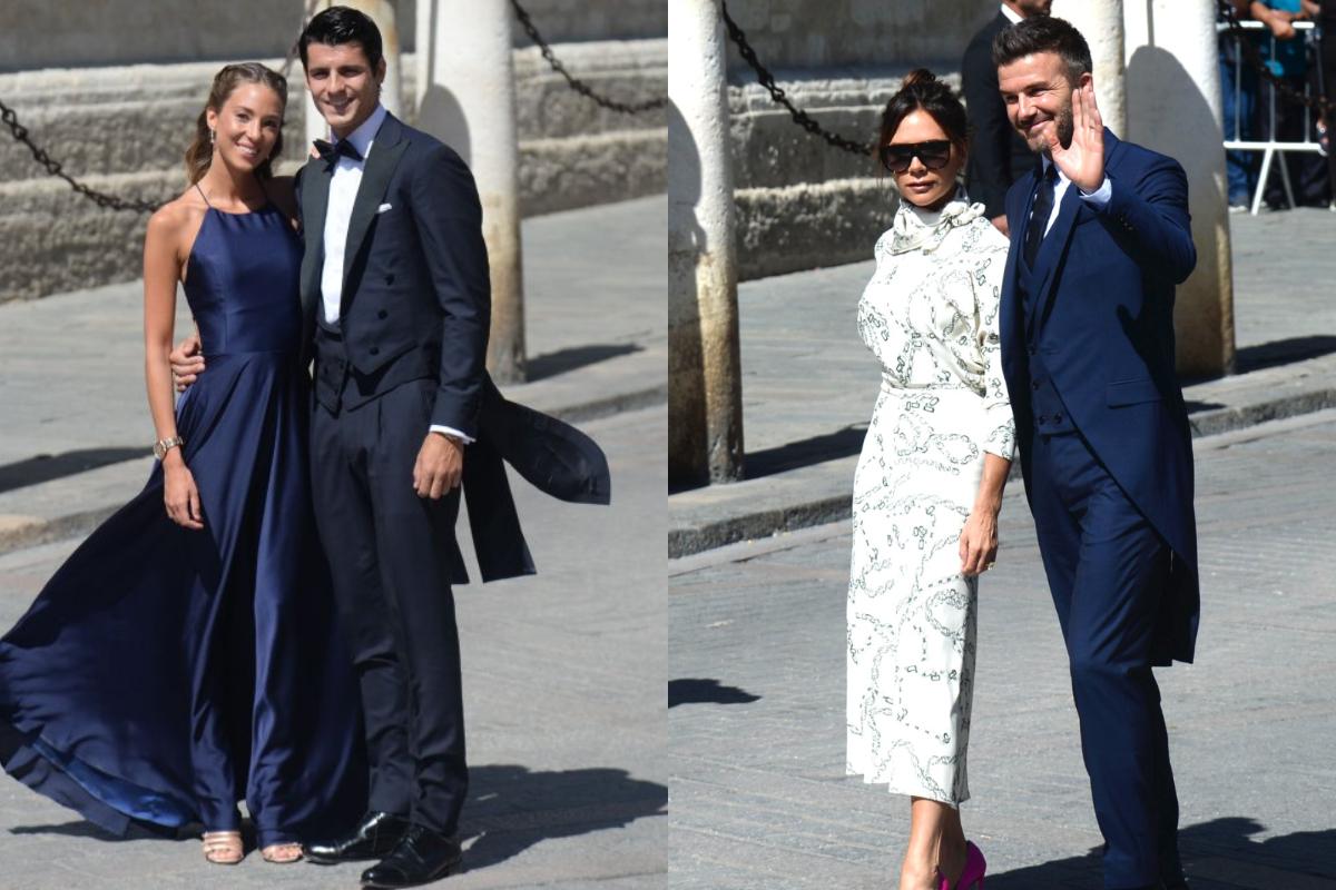 Ja si janë veshur yjet e futbollit në dasmën e Ramos  FOTO LAJM